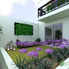 Jardins de fachadas de casas  por USER WAS DELETED!