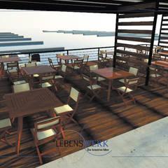 Marina Nuevo Vallarta: Terrazas de estilo  por Lebenswerk S.A. de C.V.