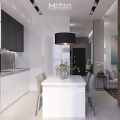 Built-in kitchens by Архитектор-дизайнер Марина Мухтарова