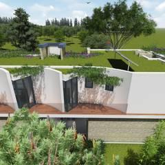 "Casa en ""Rifugio Nel Lago"": Casas prefabricadas de estilo  por Sinapsis Estudio"