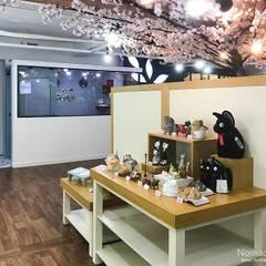 부산 남구 고양이 미용샵 '무냥무냥' - 노마드디자인: 노마드디자인 / Nomad design의  바닥