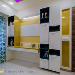 Nursery/kid's room by solids and voids,