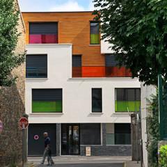 EC-BOIS | 100 projets | France + Benelux: Habitats collectifs de style  par EC-BOIS
