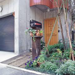 Single family home by (株)独楽蔵 KOMAGURA