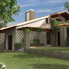 Casas de campo de estilo  por Pedro de Almeida Carvalho, Arquitecto, Lda, Rural Piedra