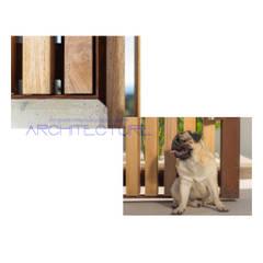 K House: Puertas de estilo  de FPM Arquitectura