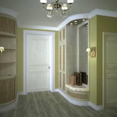 Квартира в стиле Прованс. : Коридор и прихожая в . Автор – Дизайн-студия интерьера и ландшафта 'Деметра'