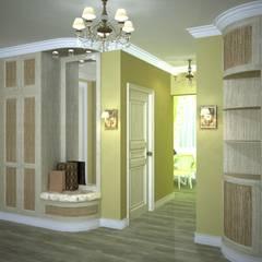 Квартира в стиле Прованс. : Коридор и прихожая в . Автор – Дизайн-студия интерьера и ландшафта 'Деметра', Кантри