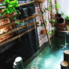 Mares et étangs de style  par Công ty TNHH Thiết Kế Xây Dựng Song Phát