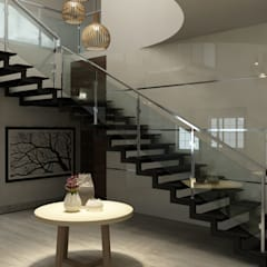 Escaleras de estilo  por M/s Studio7 Architects