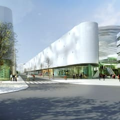LILLENIUM: Centres commerciaux de style  par AVANTPROPOS