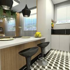 Kitchen units by Letícia Saldanha Arquitetura