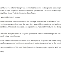 Client Review:  Hotels by Turquoise