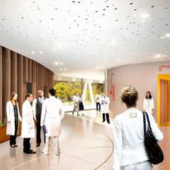 CHV PSY_VALENCIENNES: Hôpitaux de style  par AVANTPROPOS