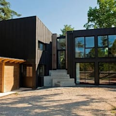 Wooden houses by EC-BOIS,