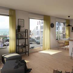 PARTENORD_PORTE DE VALENCIENNES: Habitats collectifs de style  par AVANTPROPOS