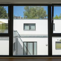 Wooden windows by Grotegut Architekten