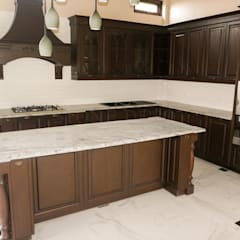 ​Viscon White ​Granite Kitchen Countertop in Guadalupe, Cebu City:  Kitchen by Stone Depot