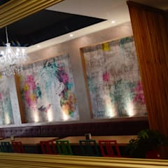 Suisse Bar: Negozi & Locali commerciali in stile  di Antes srl