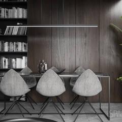 Apartament w Warszawie - Spacja Studio: styl , w kategorii Jadalnia zaprojektowany przez Spacja Studio