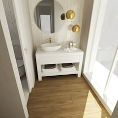 Casas de banho - Smile Bath: Casas de banho  por Smile Bath S.A.,