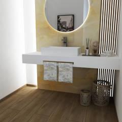 Projectos 3D Smile Bath: Casas de banho modernas por Smile Bath S.A.