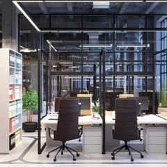 Идеи дизайна офиса IT-компании: Офисные помещения в . Автор – Art-i-Chok