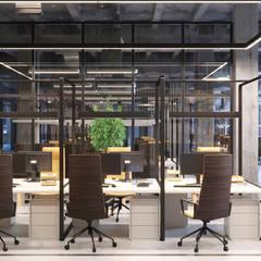 Дизайн интерьера офиса IT-компании: Офисные помещения в . Автор – Art-i-Chok