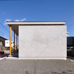 Casas pequeñas de estilo  por ツジデザイン一級建築士事務所, Industrial