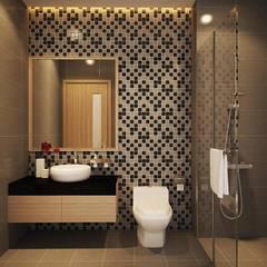 Salle de bains de style  par Công ty TNHH Thiết Kế Xây Dựng Song Phát