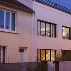 habiter le jrdin des voisins ! : Maisons de style  par la beau d'architecture