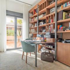اتاق کار و درس توسطTarimas de Autor, مدرن چوب Wood effect