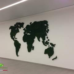 LICHENE STABILIZZATO SU MISURA: Centri congressi in stile  di Green Habitat s.r.l.