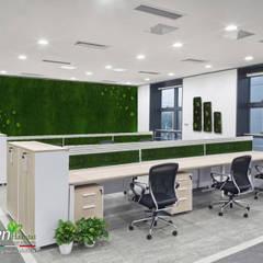 COMPLESSO UFFICI GREEN FANTASTICO: Complessi per uffici in stile  di Green Habitat s.r.l.