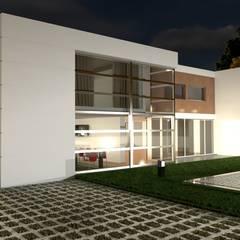 Maisons préfabriquées de style  par Arbisland Arquitectura & Design