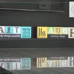 Sala Comercial : Edifícios comerciais  por Daniela Manosso Bampi - Arquitetura Inteligente