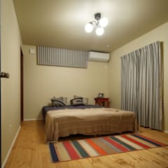house-11: dwarfが手掛けた寝室です。