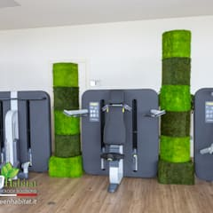 minimalistic Gym by Green Habitat s.r.l.