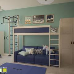 Nursery/kid's room by Мастерская интерьера Юлии Шевелевой