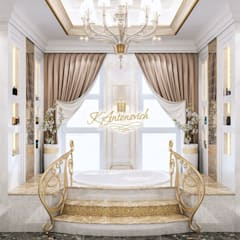 ​The philosophy of exclusive luxury from Katrina Antonovich:  Bathroom by Luxury Antonovich Design
