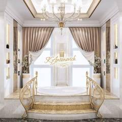The philosophy of exclusive luxury from Katrina Antonovich:  Bathroom by Luxury Antonovich Design, Classic