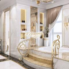 The philosophy of exclusive luxury from Katrina Antonovich:  Bathroom by Luxury Antonovich Design