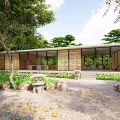 Casas ecológicas de estilo  por _ p r o g r a m a