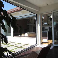 เรือนกระจก โดย Della Bona & Fiorentini Studio di Architettura,