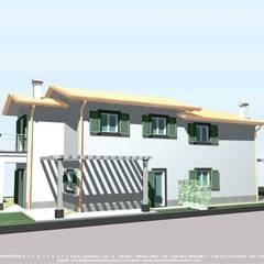 منازل التراس تنفيذ Della Bona & Fiorentini Studio di Architettura