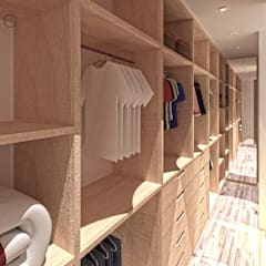 Dressing room by ARAMADO arquitetura+interiores, Rustic