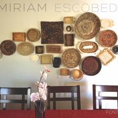comedor: Comedores de estilo rústico por MIRIAM ESCOBEDO INTERIORISTA