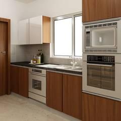 LIZ kitchen:  Kitchen by Decopad Interiors,