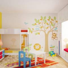 Kids Bedroom:  Bedroom by Decopad Interiors,