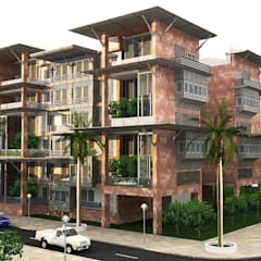 SDMIM MİMARLIK | ARCHITECTURE  – Konut Tasarımı SDMIM:  tarz Apartman